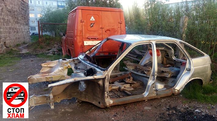 16 автомобилей эвакуированы в Воркуте в рамках проекта