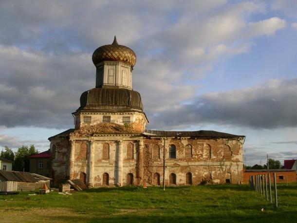 В Ижме восстановят храм