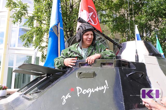 Капсула с землей Коми отправилась в патриотическое путешествие по России
