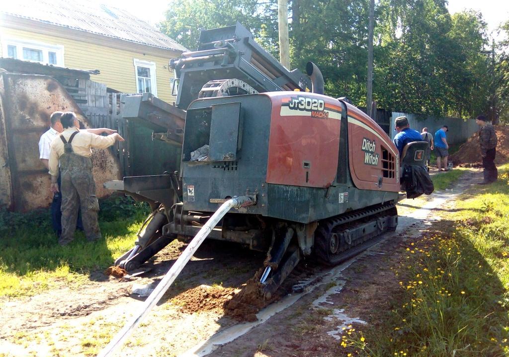 Строительство водопровода в поселке Щельяюр завершится осенью