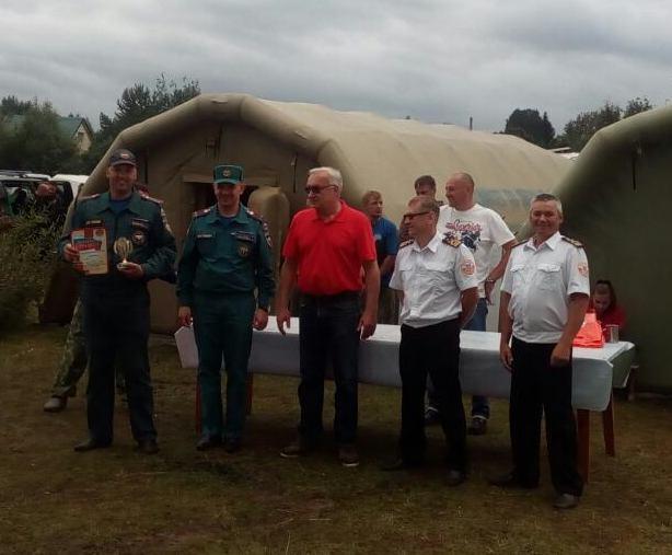 В Коми прошли открытые соревнования по спасательному многоборью на воде на кубок начальника