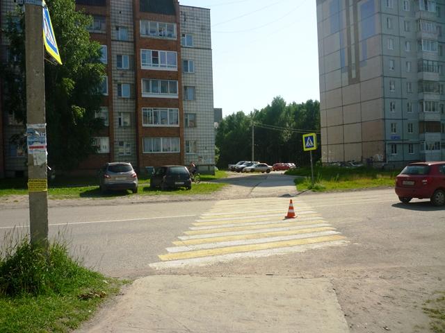 На дороге в эжвинском районе Сыктывкара пострадал несовершеннолетний велосипедист