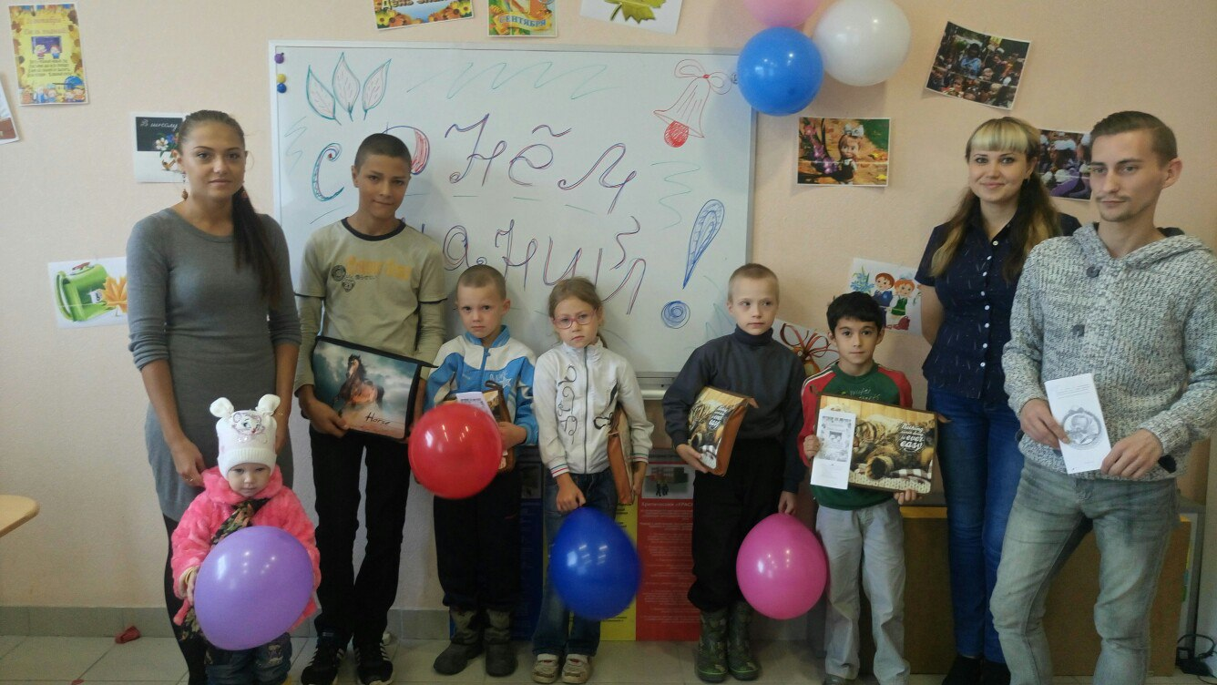 Социальные работники Сыктывдина помогают детям из нуждающихся семей подготовиться к школе