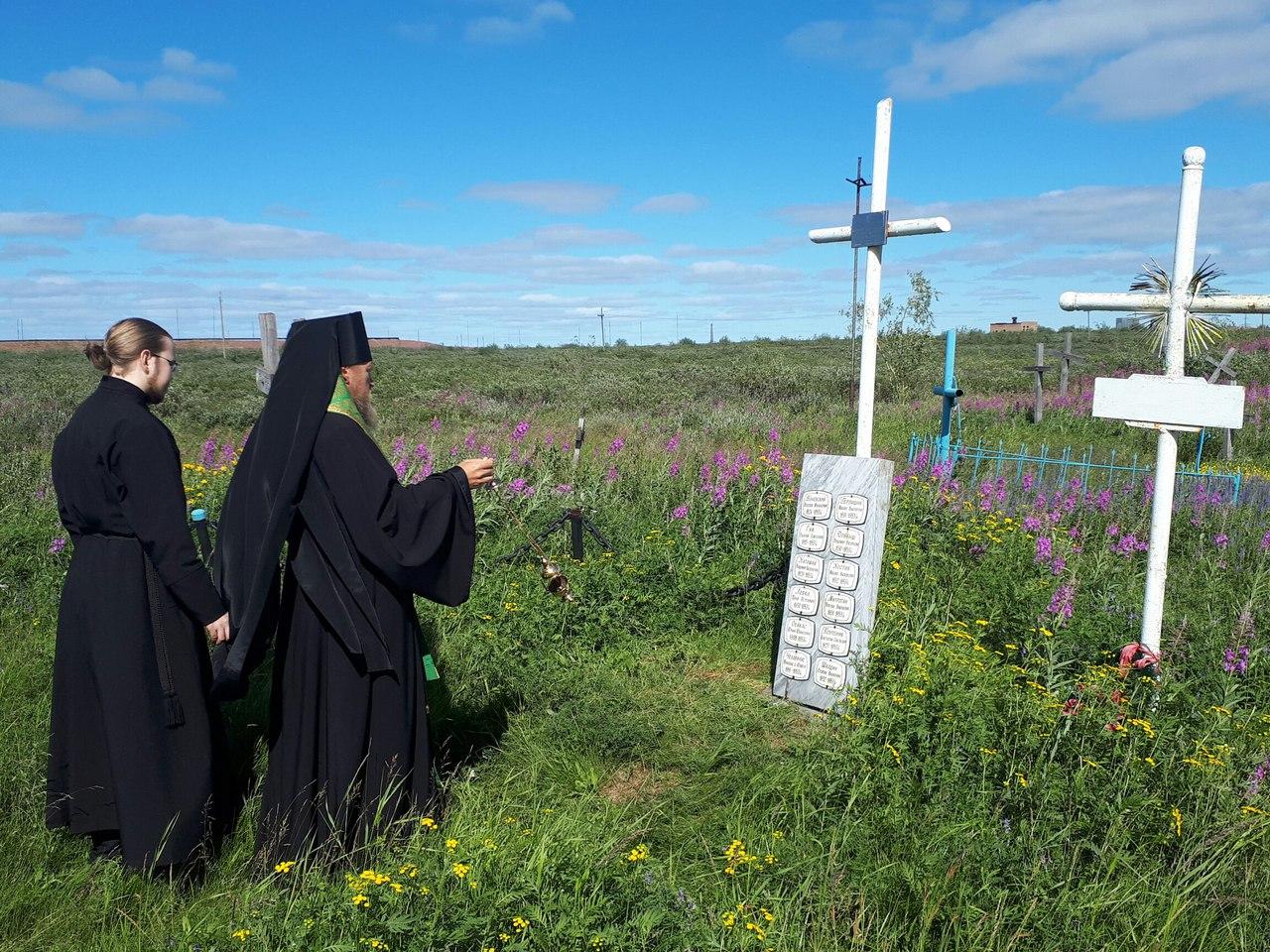 В Воркуте помянули расстрелянных в 1953-м году заключенных