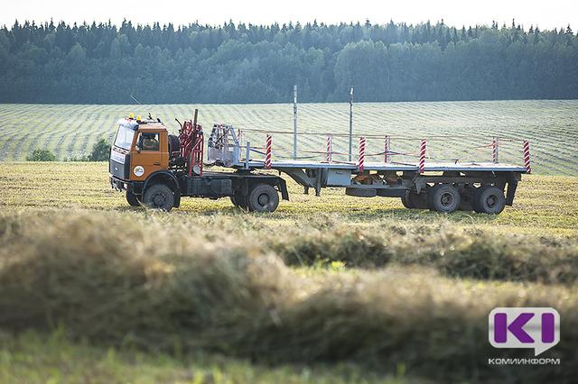 В Коми заготовлена треть необходимых кормов