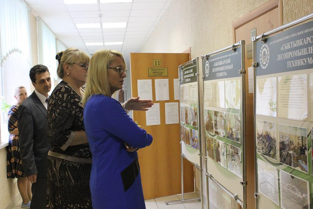 Наталья Михальченкова инспектирует ссузы перед началом учебного года