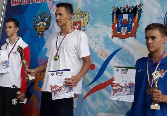 Сыктывкарский пловец Николай Зуев завоевал второе