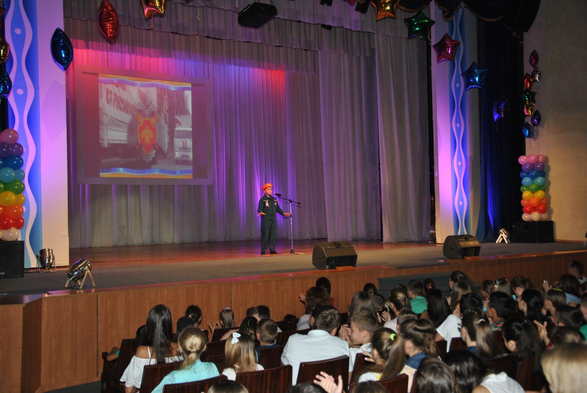 Неменее сотни талантливых детей совсей Российской Федерации съехались вРостов