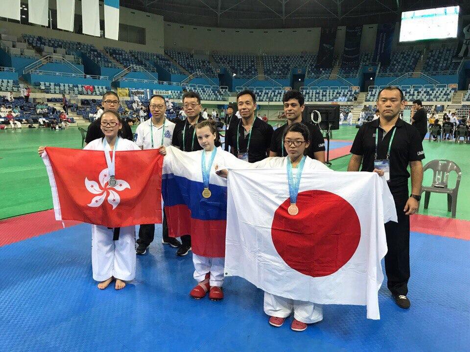 Таэквондисты из Сыктывкара и Усинска завоевали россыпь медалей Чемпионата Азии