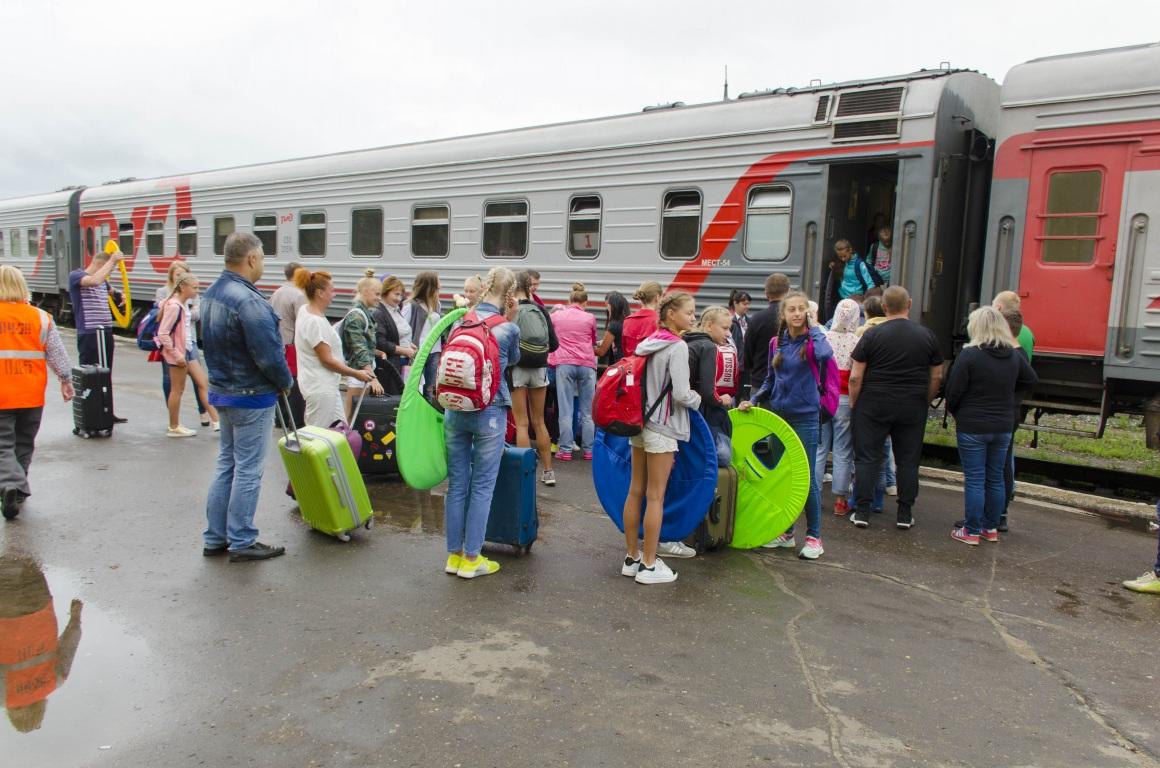 В Коми с отдыха в Краснодарском крае вернулась третья группа юных спортсменов