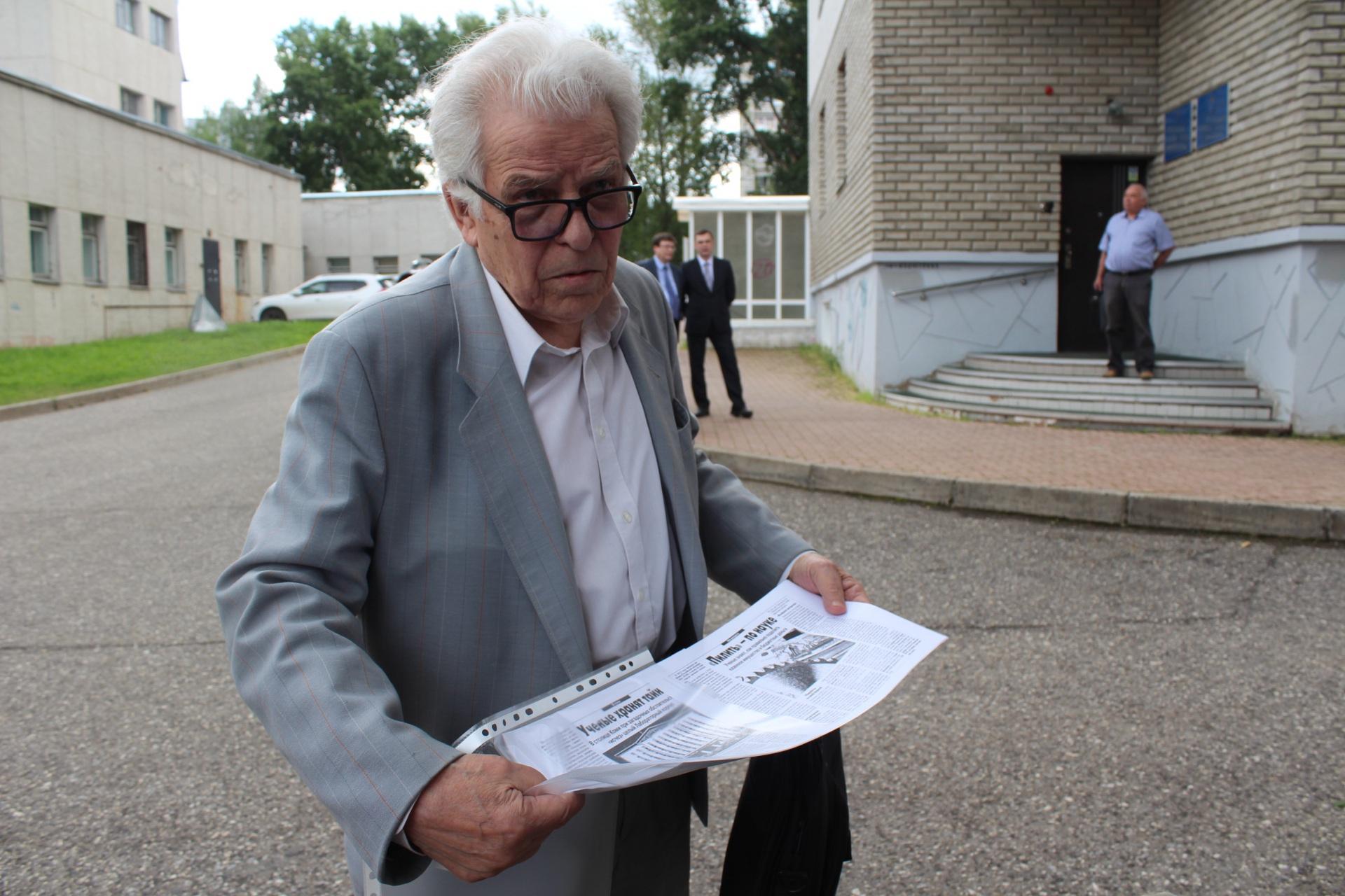 Академик РАН Михаил Рощевский уходит из Коми научного центра