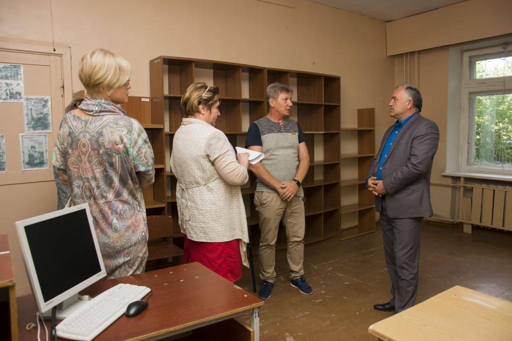 В Ухте началась приемка школ к новому учебному году