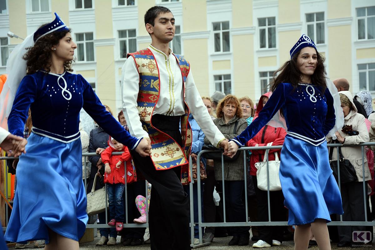 Молодежь разных национальностей познакомит сыктывкарцев со своей культурой
