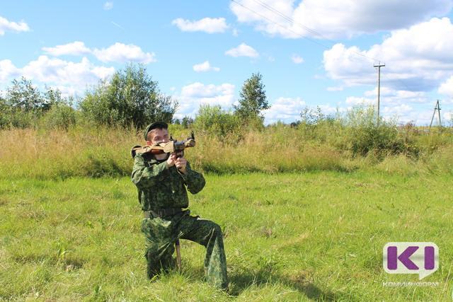 Лучшие призывники Коми целились из гранатомета и катались на