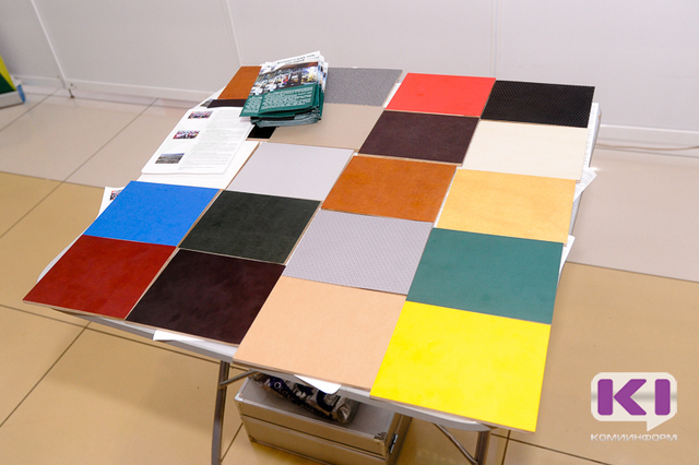 На Коми ВДНХ Жешартский ЛПК представил лучшие образцы цветной ламинированной фанеры