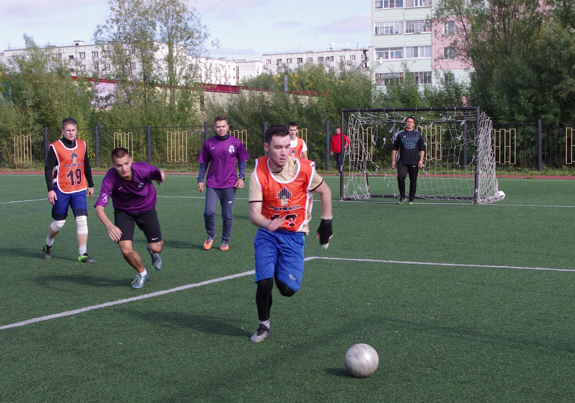 В Усинске при поддержке нефтяников прошло спортивное мероприятие