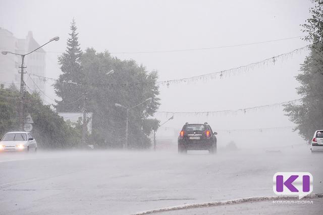 С завтрашнего дня почти на сутки в Коми объявлено штормовое предупреждение