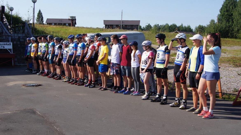 В Выльгорте завершился первый соревновательный день Чемпионата и Первенства Коми по летнему биатлону