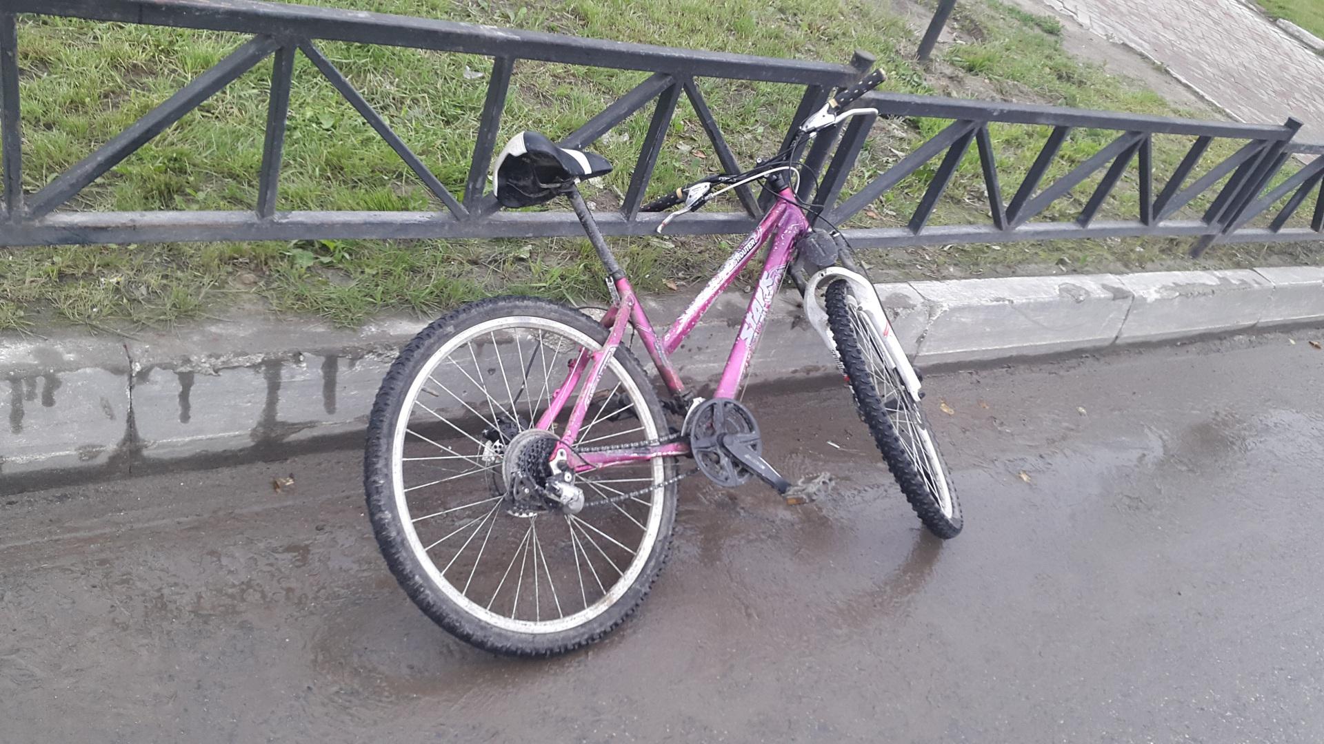 В Усинске под колесами оказался велосипедист-нарушитель
