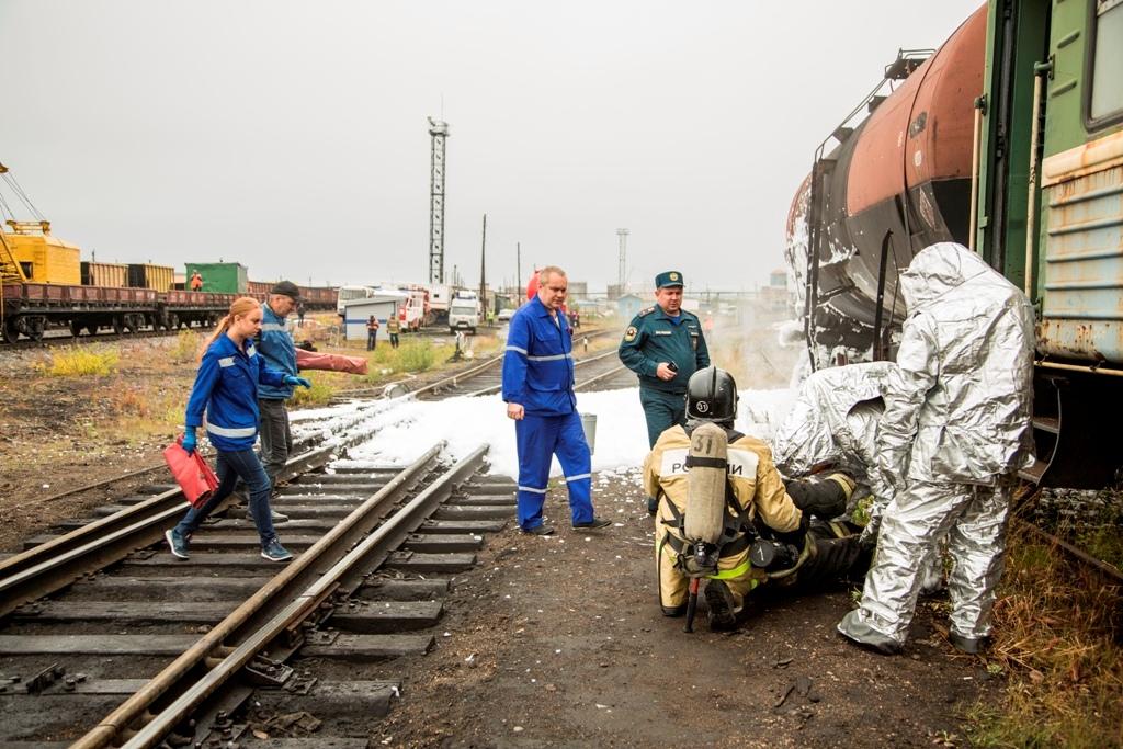В Коми прошла комплексная тренировка реагирования на чрезвычайные ситуации
