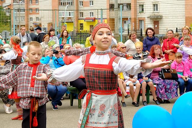 В семи точках Сыктывкара проходит День микрорайонов