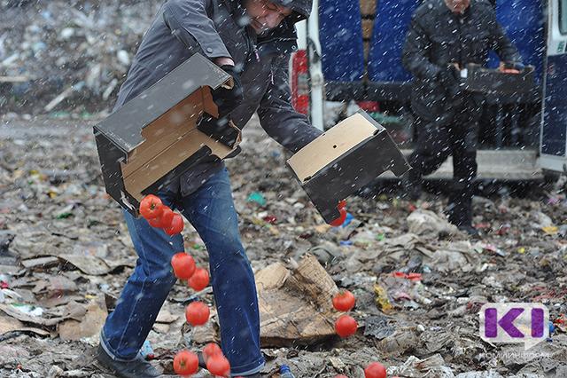 Сыктывкарский предприниматель заплатил штраф за турецкие помидоры на прилавке