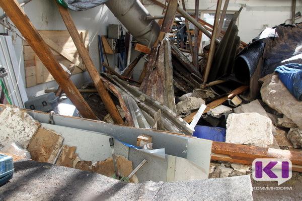 По факту гибели человека под завалами в Сыктывкаре возбуждено уголовное дело