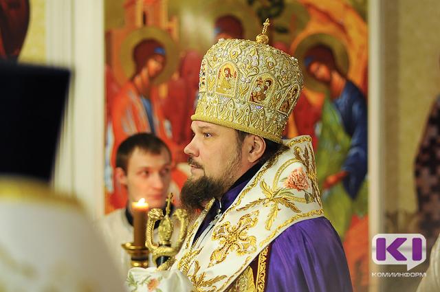 Успенский пост окончен в Коми архипастырским богослужением в Усть-Куломском районе
