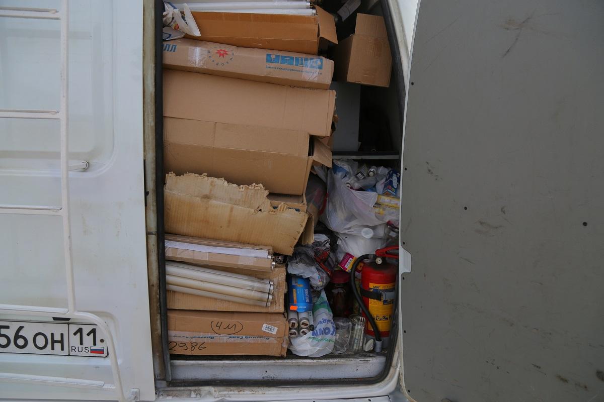Управление противопожарной службы и гражданской защиты Коми примет ртутьсодержащие отходы в Ухте