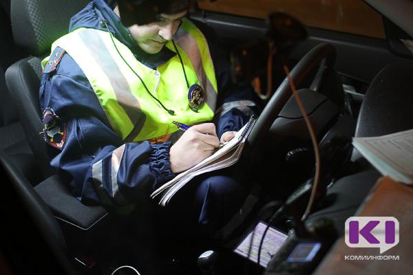 В пятницу вечером автоинспекторы проверят сыктывкарских водителей