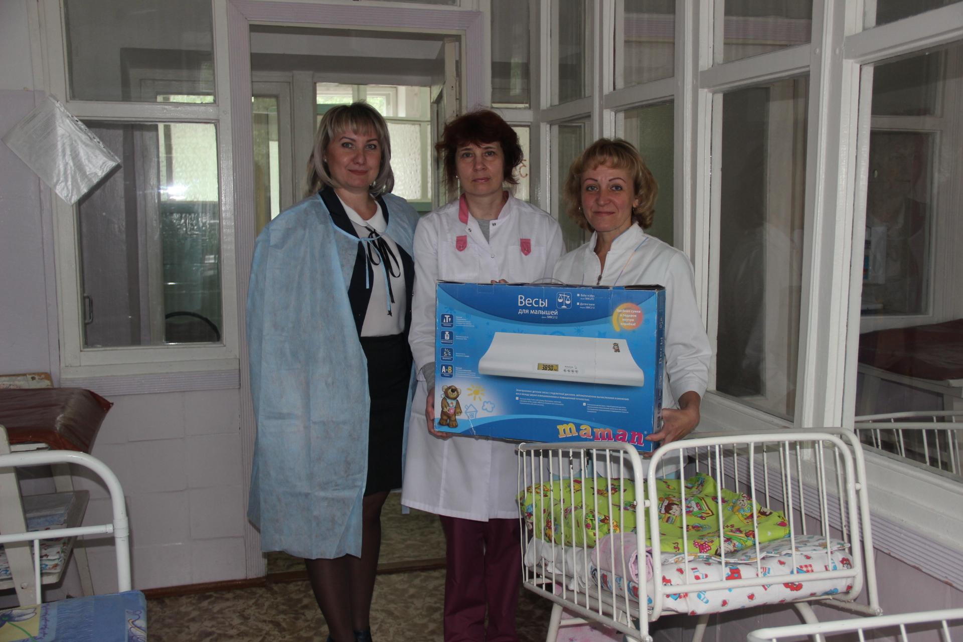 В Инте оказана помощь отделению патологии новорожденных детской больницы