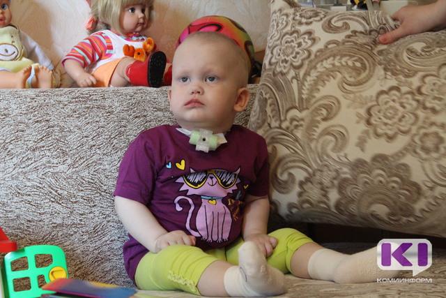Спасти ребенка: Более 110-ти тысяч рублей собрано в помощь Юле Разумовой за день марафона