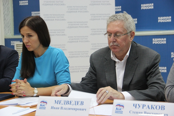 Единороссы подвели промежуточные итоги выполнения партпроектов в Коми