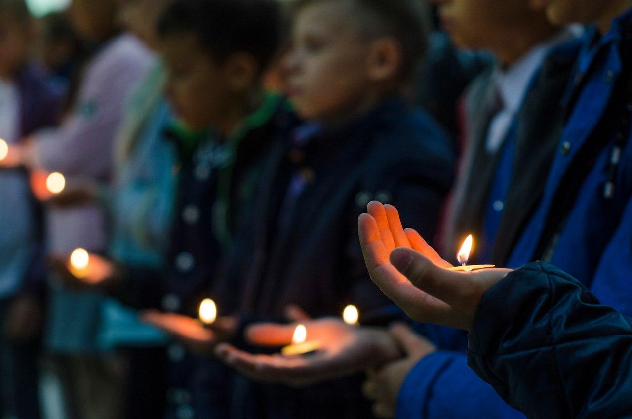 Накануне Дня солидарности в борьбе с терроризмом в Ухте прошла памятная акция