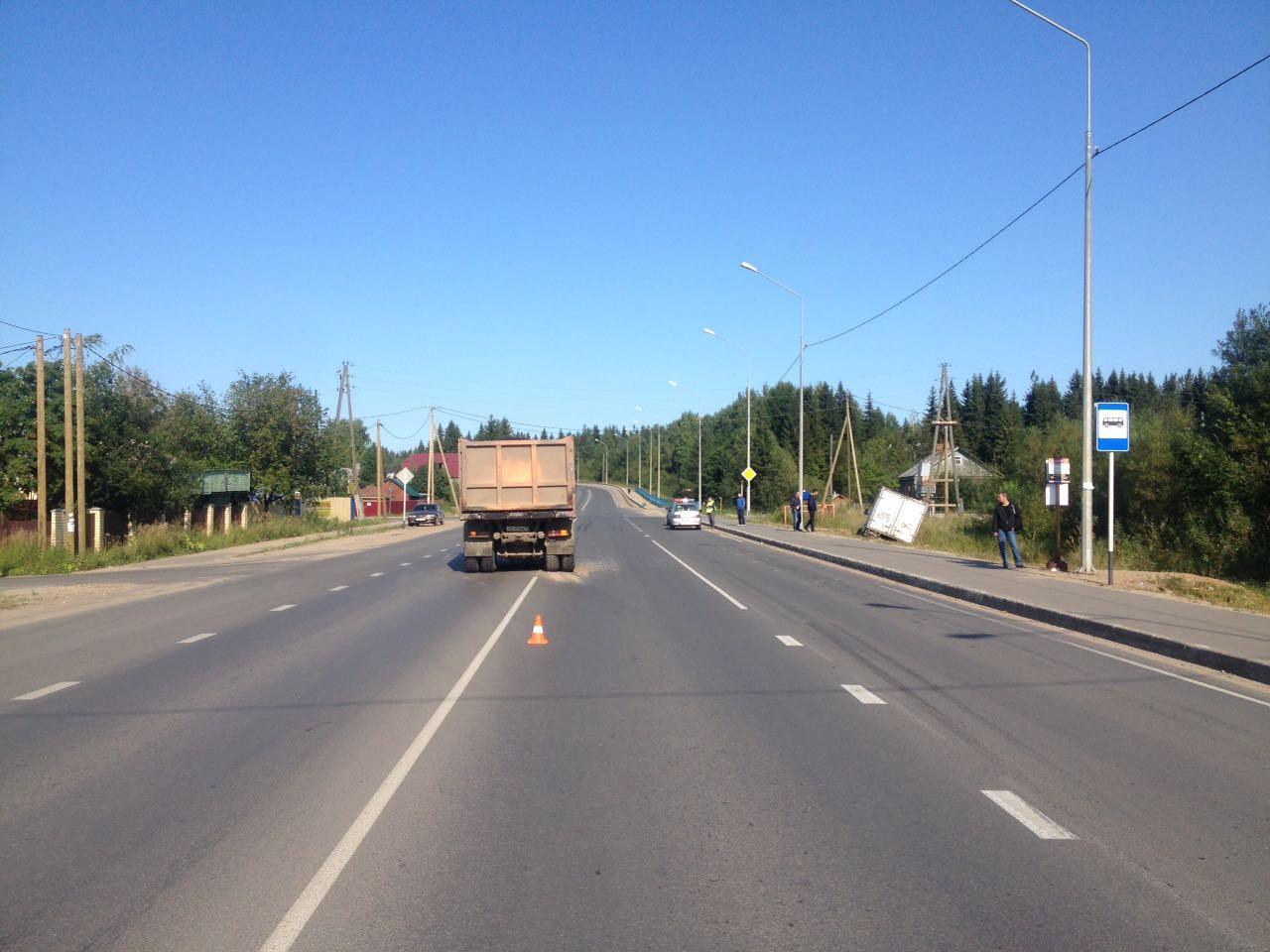 Впригороде Сыктывкара вДТП пострадал шофёр «Газели»