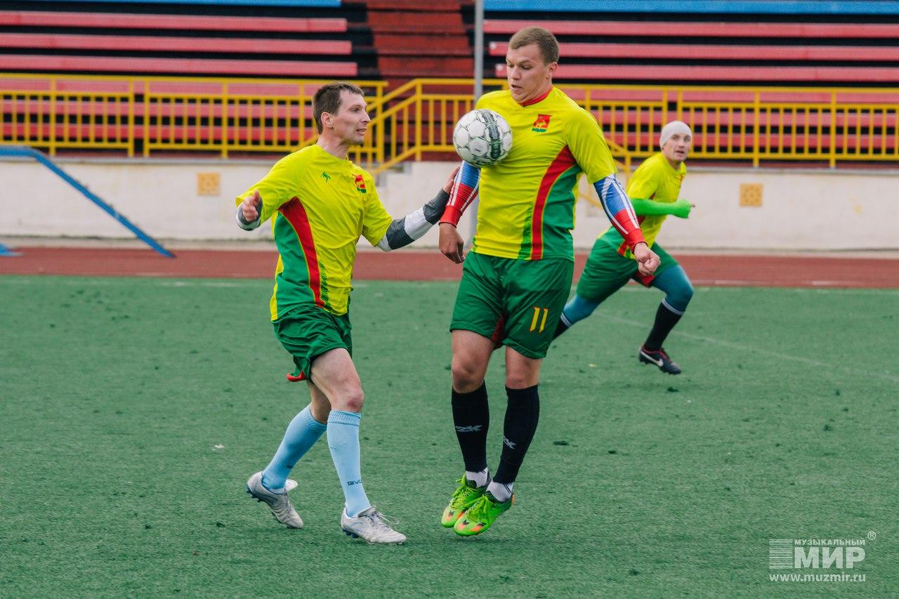 Сборная Сыктывкара выиграла Чемпионат Республики Коми по футболу