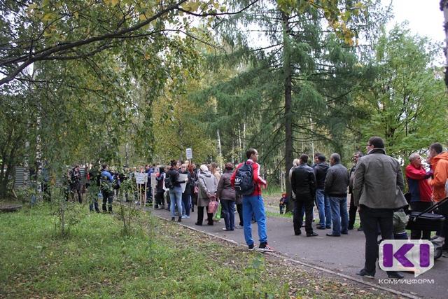 Сыктывкарские дольщики ждут помощи от властей