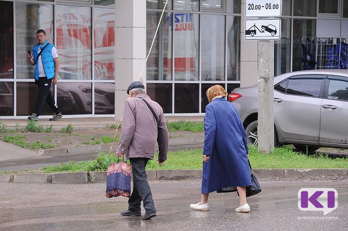 В Сыктывкаре водитель со стажем не заметил на переходе пожилую женщину