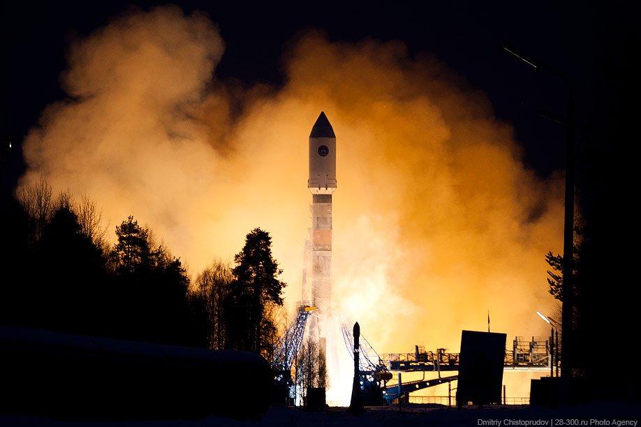 Кировчане могут увидеть «медузу» отзапуска ракеты