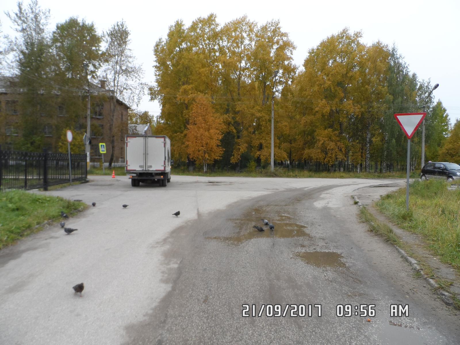 Угодила под колеса автомобиля пенсионерка вСосногорске