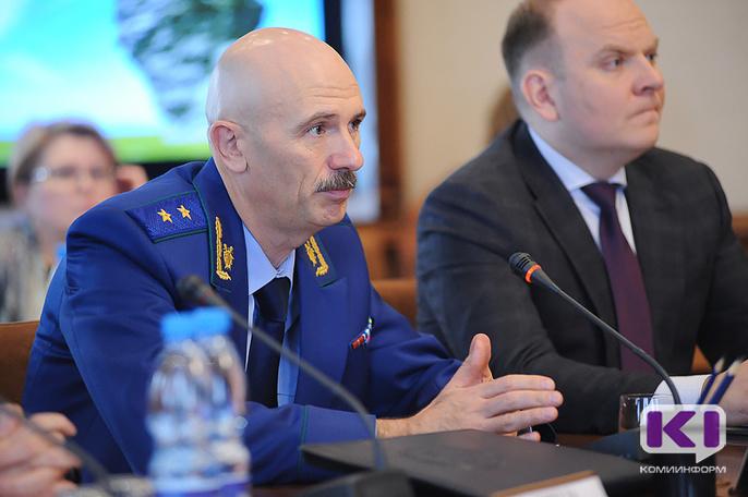 Прокурор Коми Сергей Бажутов: