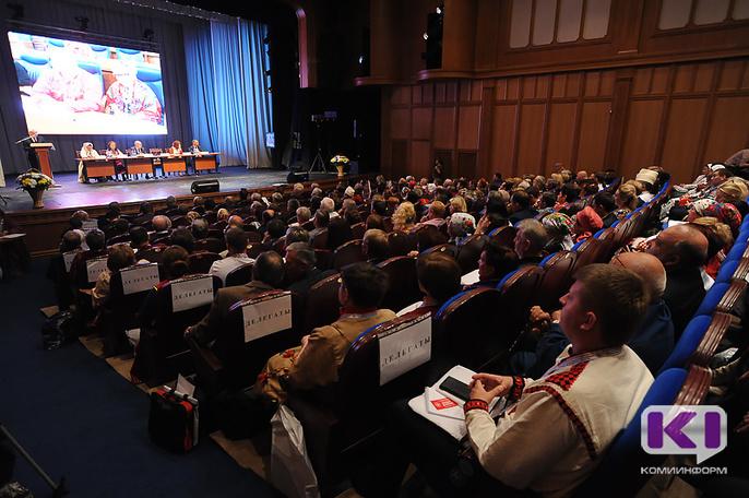 ВКоми проходит Съезд финно-угорских народов РФ