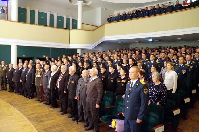 В Коми отметили 85-летие Гражданской обороны России