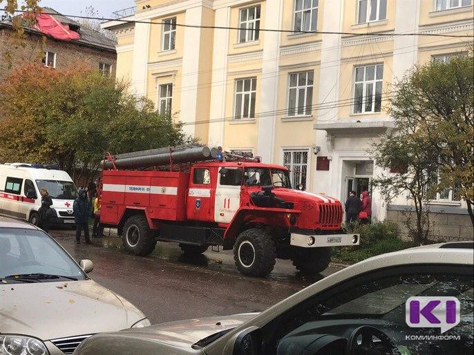 Из здания Минобраза Коми в Сыктывкаре эвакуировали сотрудников