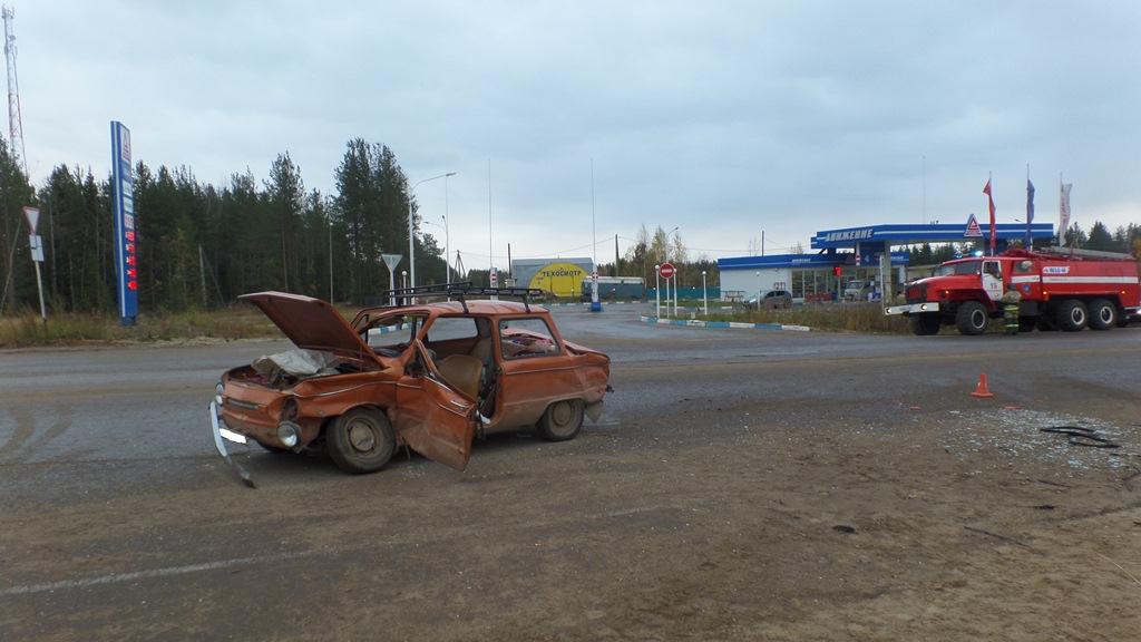Выезжавший с заправки в Усть-Куломском районе