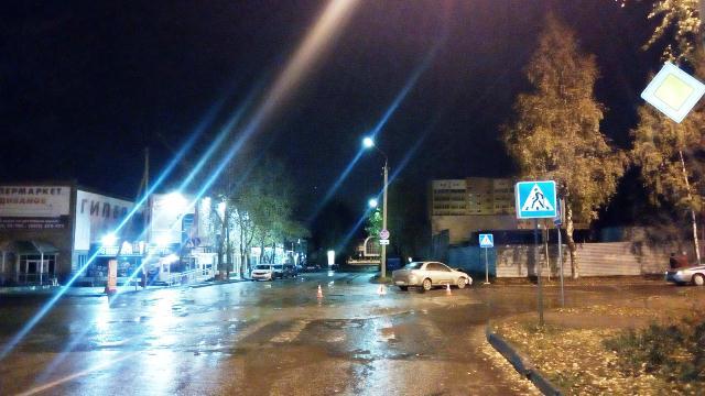 В Сыктывкаре две женщины-водители не поделили дорогу