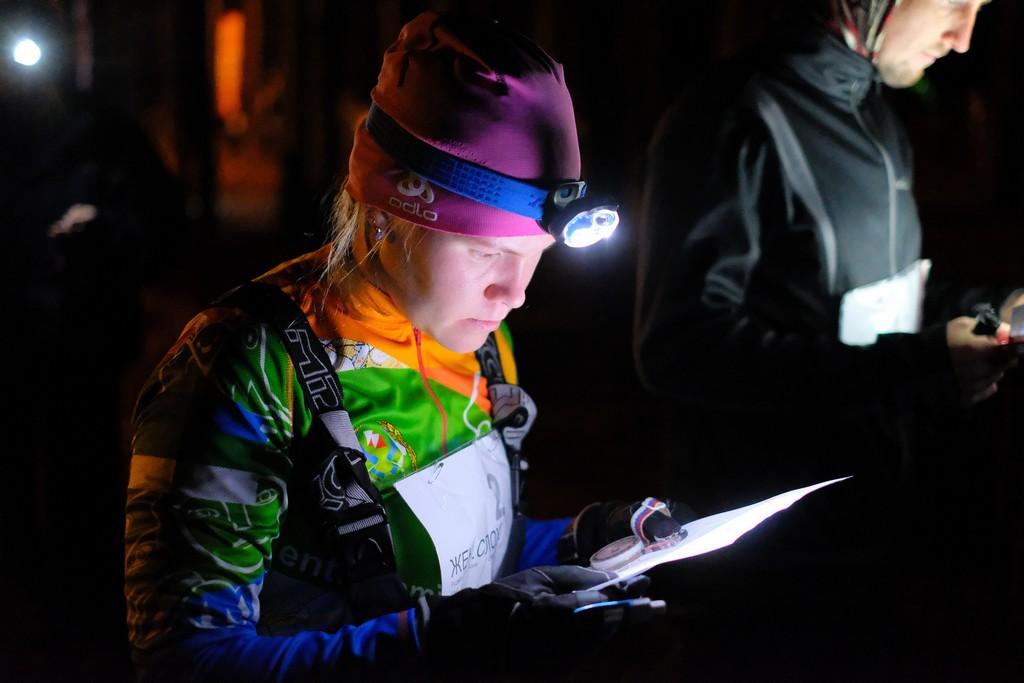 СПАС-Коми устроил соревнования по спортивному ориентированию в ночных условиях