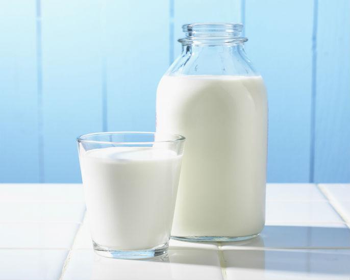 В молоке