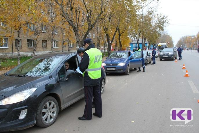 Утренний рейд ГИБДД в Сыктывкаре напугал водителей с похмелья
