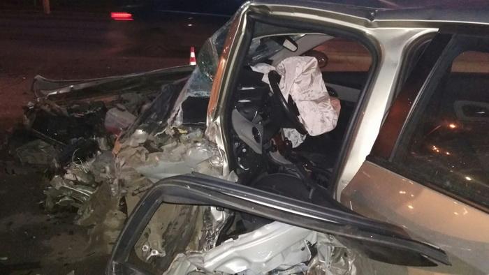 Печальное ДТП вКоми: вУхте нетрезвый шофёр вылетел на«встречку»